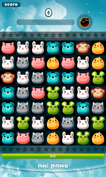 Anipang; an addictive game