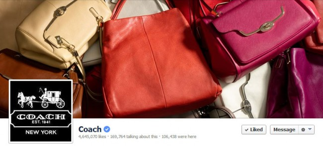 Coach me if you can – Facebook campaign 2013