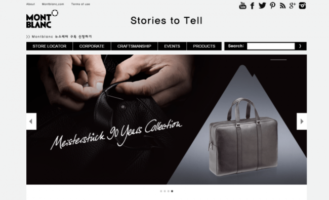 "Montblanc ""Stories to Tell"""