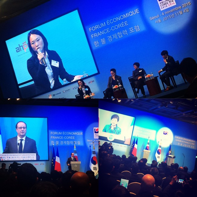 Asiance co-CEO Bosun Kim talking digital at French Korea Economic Forum